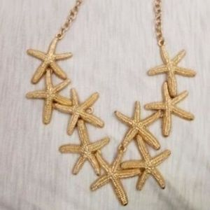 ALDO STARFISH SEA STAR Mermaid Fashion NECKLACE